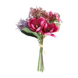 Ramo Flores Artificales Mixto Tela M
