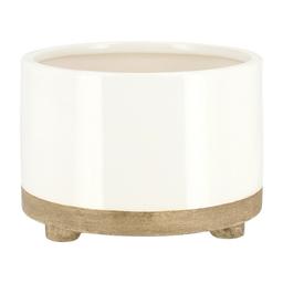 Maceta Ceramica Patas M