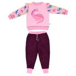 Pijama Dinosaurio Rosado Talla 4