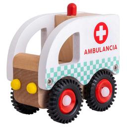 Ambulancia Madera
