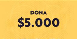 Dona $5.000