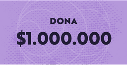 Dona $1.000.000