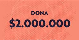 Dona $2.000.000