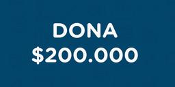 Dona $200.000