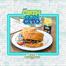 Menu Chingonsito Torta