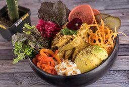 Pollo Curry Bao Bowl