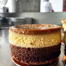 Torta Chocoflan para2