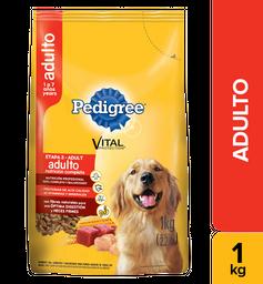 Alimento seco para perro adulto  Pedigree  Paquete 1 kg