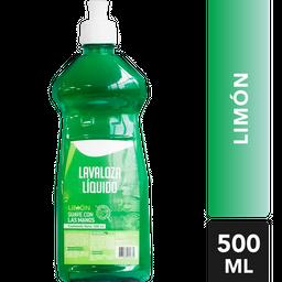 Lavaloza líquido limón  Cliner style  Tarro 500 ml