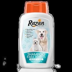 Shampoo Para Perros Razan Pelaje Claro 1000 cc