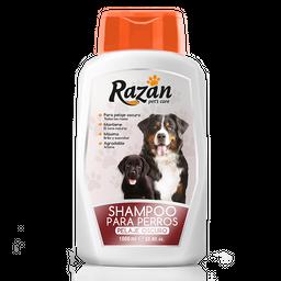 Shampoo Para Perros Razan Pelaje Oscuro 1000 cc