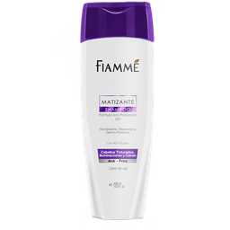 Shampoo Fiamme Matizante Sin Sal 400 mL