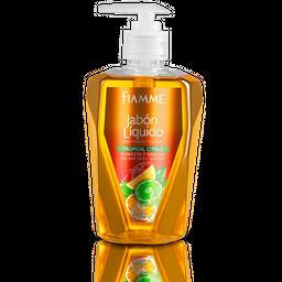 Jabon Fiamme Liquido Tropical Citrus 400 cc