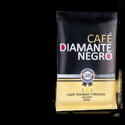 Cafe Diamante Negro Tostado y Molido 250 g