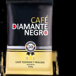 Cafe Diamante Negro Tostado y Molido 500 g