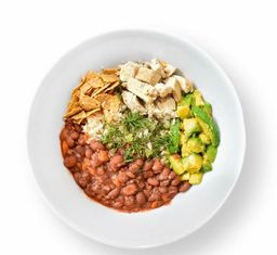 Bowl Frijoles Chili