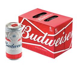 6 Budweiser King Of Beers 269 ml