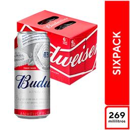 Budweiser Sixpack 269 ml