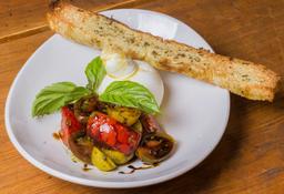 Burrata con Tomates