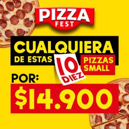Promo Pizza Small