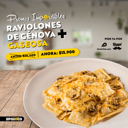 Combo Raviolones de Genova