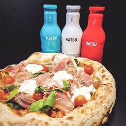 Pizza Bufalissima clásica + Te Hatsu 400ml