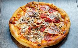 Combo Pizza Pollo y Champiñones
