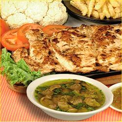 Filete de Pollo 200grs + Consomé