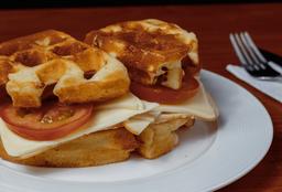 Waffle de Pavo