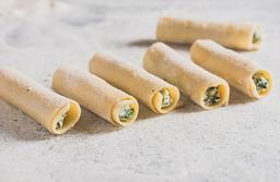 Cannelloni listos para hornear