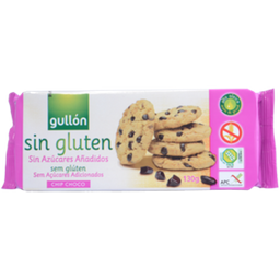 Galleta Chip Choco Sin Gluten Sin Azucar Gullon
