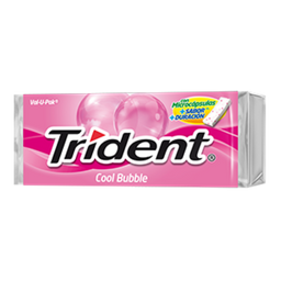 Goma De Mascar Trident Valu Pack Cool Bubble