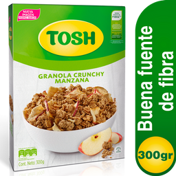 Granola Crunchy Tosh Manzana 300g