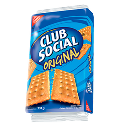Club Social Galletas Saladas Sabor Original Paquete