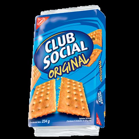 Club Social Galletas Saladas Sabor Original Paquete