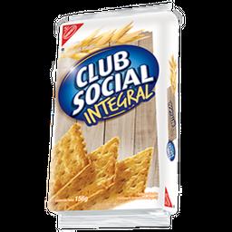 Club Social Galletas Saladas Sabor Integral Paquete