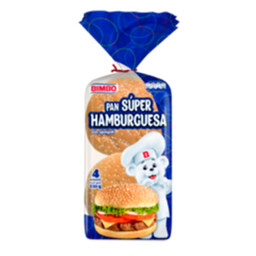 Pan Bimbo Super Hamburguesa