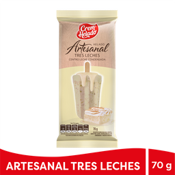 Helado Artesanal Tres Leches X70G