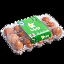 Oferta Huevos Kikes Pague 13 Lleve 15