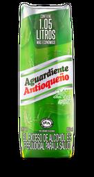 AGUARDIENTE ANTIOQUEÑO VERDE LITRO TPACK 1050 ml