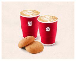 Combo Cappuccinos y Almojabanas x2