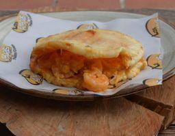 Arepa Camarones