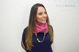 Pashmina Palo de Rosa
