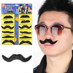 Kit de Bigotes Mustache Party