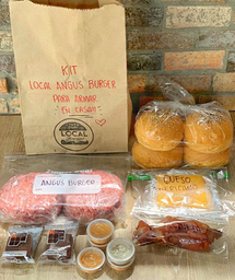 Kit Local Burger en Casa