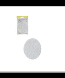 Paquete De Esponjas Redonda Para Limpieza Facial 2 Pzs
