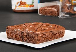 Brownie con Nutella
