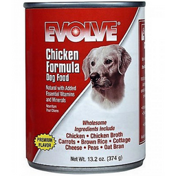Lata Dog Evolve Chicken 13.2 Oz