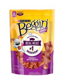 Snack Purina Beggin Strips Bacon 170 Gr