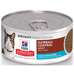 Lata Cat Hills Science Diet Adult Hairball Control 5.5 Oz